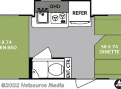 New 2018  Forest River R-Pod Ultra Lite RP-178 by Forest River from U-Neek RV Center in Kelso, WA