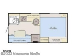 New 2018  Adventurer  80RB by Adventurer from U-Neek RV Center in Kelso, WA