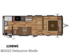 New 2018  Keystone Hideout 22RBWE by Keystone from U-Neek RV Center in Kelso, WA