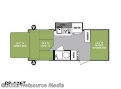 New 2018  Forest River R-Pod Ultra Lite RP-176T by Forest River from U-Neek RV Center in Kelso, WA