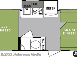 New 2019  Forest River R-Pod Ultra Lite RP-178 by Forest River from U-Neek RV Center in Kelso, WA