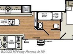 New 2018  Forest River Sierra Destination 393RL by Forest River from Midway Homes & RV in Grand Rapids, MN