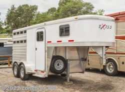 Used 2014  Exiss  2 Horse Trailer Slant Load Tack Room by Exiss from Longhorn RV in Mineola, TX