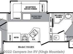 Used 2009  Keystone Cougar 316QBS by Keystone from Campers Inn RV in Kings Mountain, NC