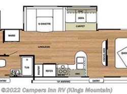 Used 2014  Forest River Salem 32BHDS by Forest River from Campers Inn RV in Kings Mountain, NC