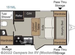 New 2016  Keystone Passport 151ML Express by Keystone from Campers Inn RV in Mocksville, NC