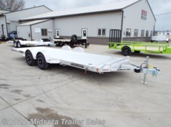 "2021 Aluma 8220-LP Tilt 82""x20' Aluminum Low Profile Tilt Car Trailer"