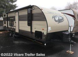 New 2017  Forest River Cherokee Grey Wolf 26BH by Forest River from Vicars Trailer Sales in Taylor, MI