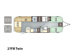 Used 2017  Airstream Flying Cloud 27FB Twin by Airstream from Vogt Family Fun Center  in Fort Worth, TX
