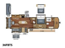 New 2018  Jayco Pinnacle 36FBTS by Jayco from Vogt Family Fun Center  in Fort Worth, TX