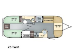 New 2018  Airstream Flying Cloud 25 Twin by Airstream from Vogt Family Fun Center  in Fort Worth, TX
