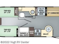 New 2018  Airstream International Serenity 25RB Twin by Airstream from Vogt RV Center in Ft. Worth, TX