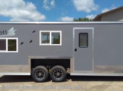 New 2017  Yetti Shell 8' x 21' Toyhauler by Yetti from Glacial Lakes Dock, Inc.  in Starbuck, MN