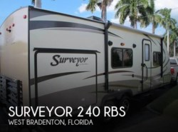 Used 2016 Forest River Surveyor 240 RBS available in Sarasota, Florida