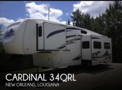Used 2008  Forest River Cardinal 34QRL by Forest River from POP RVs in Sarasota, FL