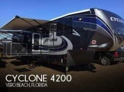Used 2016  Heartland RV Cyclone 4200