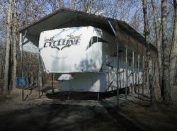 Used 2009  Heartland RV Cyclone 3950 by Heartland RV from POP RVs in Sarasota, FL