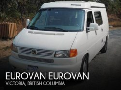 Used 2002  Winnebago  Eurovan Eurovan by Winnebago from POP RVs in Sarasota, FL