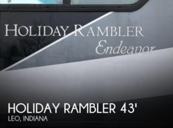 Used 2011  Holiday Rambler  Holiday Rambler Endeavor 41SKQ by Holiday Rambler from POP RVs in Leo, IN