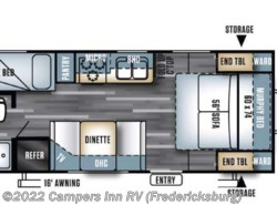 New 2018  Forest River Salem Cruise Lite 201BHXL by Forest River from Campers Inn RV in Stafford, VA