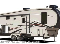 New 2018  Forest River Sandpiper 383RBLOK by Forest River from Chesaco RV in Frederick, MD