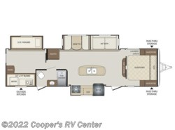 New 2018  Keystone Bullet 311BHS by Keystone from Cooper's RV Center in Apollo, PA