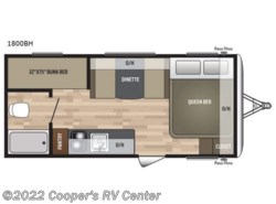 New 2018  Keystone  Summerland Mini 1800BH by Keystone from Cooper's RV Center in Apollo, PA