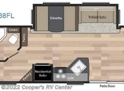 New 2018  Keystone Springdale 38FL by Keystone from Cooper's RV Center in Apollo, PA