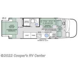 New 2018  Thor Motor Coach Axis 25.2 by Thor Motor Coach from Cooper's RV Center in Apollo, PA