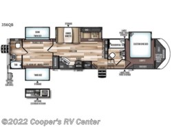 New 2018  Forest River Wildwood Heritage Glen 356QB by Forest River from Cooper's RV Center in Apollo, PA