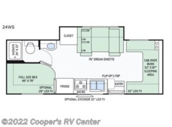 New 2018  Thor Motor Coach Four Winds Sprinter 24WS by Thor Motor Coach from Cooper's RV Center in Apollo, PA