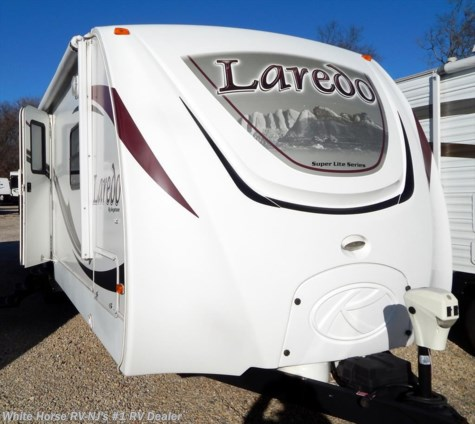 2011 Keystone Laredo 293RK Rear Kitchen U-Dinette/Sofa Slide out
