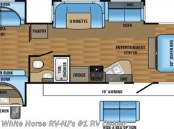 New 2017  Jayco Jay Flight 32TSBH 2-Bedroom Triple Slideout by Jayco from White Horse RV Center in Williamstown, NJ