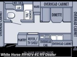 Used 2004  Jayco Jay Feather EXP 19H Double Tent Ends by Jayco from White Horse RV Center in Williamstown, NJ