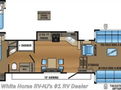 New 2017  Jayco North Point 383FLFS Front Living Room w/Five Slideouts by Jayco from White Horse RV Center in Williamstown, NJ