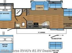New 2017  Jayco Jay Flight 38FDDS Front Lounge Double Slideout by Jayco from White Horse RV Center in Williamstown, NJ