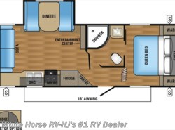 New 2017  Jayco Jay Flight SLX 24RLS Front Queen Booth Dinette Slideout by Jayco from White Horse RV Center in Williamstown, NJ