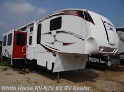 Used 2010  Keystone Fuzion 383 Queen Bed, Triple Slide-out