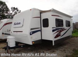 Used 2008  Forest River Salem LA 29FKSS Queen Bed, Sofa/Dinette Slide by Forest River from White Horse RV Center in Williamstown, NJ