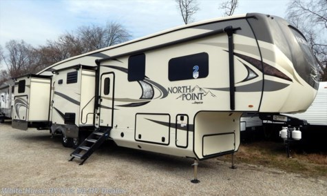2018 Jayco North Point 375BHFS Two Bedroom Five Slideouts