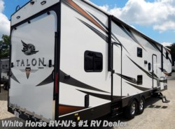 New 2018 Jayco Talon 313T U-Dinette Slide 13' Enclosed Garage available in Williamstown, New Jersey