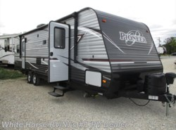 Used 2017  Heartland RV Pioneer RG28 U-Lounge Slide-out Separate Rear Garage by Heartland RV from White Horse RV Center in Williamstown, NJ