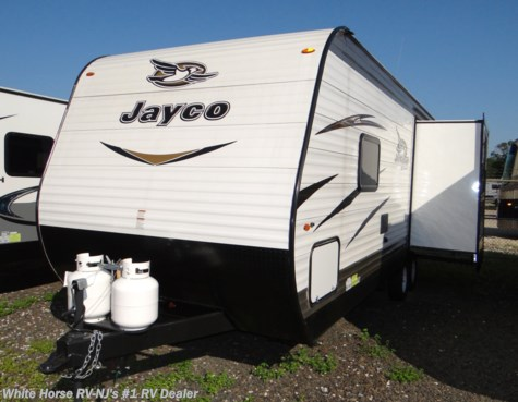 2018 Jayco Jay Flight SLX 245RLSW Front Queen, Rear Sofa w/Dinette Slide
