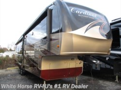 Used 2011  Forest River Cardinal 3425 RT Rear Entertainment Triple Slide