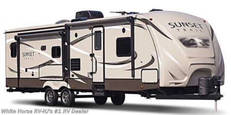 2016 CrossRoads Sunset Trail Super Lite ST300RK Rear Kitchen Slide-out