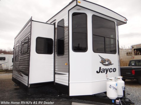 2019 Jayco Bungalow 40LOFT Front Living Room Triple Slideout w/Loft