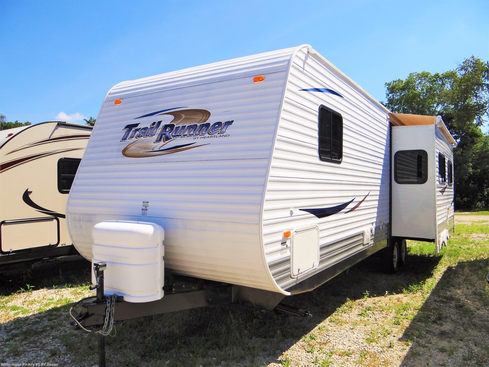 2011 Heartland RV Trail Runner 29RLS Rear Living Slide for Sale in  Williamstown, NJ 08094   TT12533