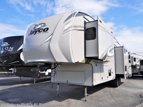 2020 Jayco Eagle 317RLOK Rear Sofa, Is. Kitchen w/3 Slideouts