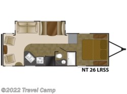 Used 2013  Heartland RV North Trail  King Slides NT KING 26LRSS by Heartland RV from Travel Camp in Jacksonville, FL