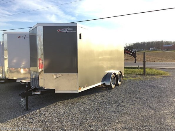 2021 Cross Trailers 716TA-Alpha with ramp door available in Apple Creek, OH